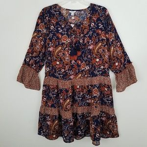 NWT Cato Hobo/Gypsy Dress